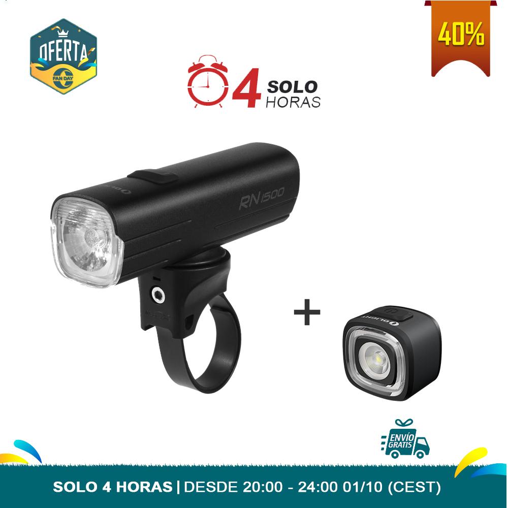 RN1500 + RN120 Linternas para bici