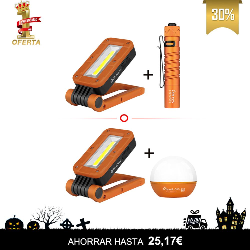 Swivel Naranja +OBulb MC/ i5r