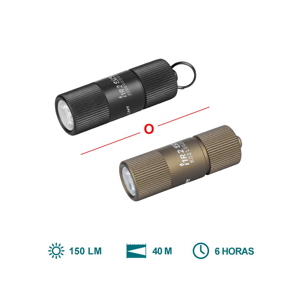 Olight i1R II Kit (Linternas Llavero Ultra Ligero Luz Diminuta de Antorcha)