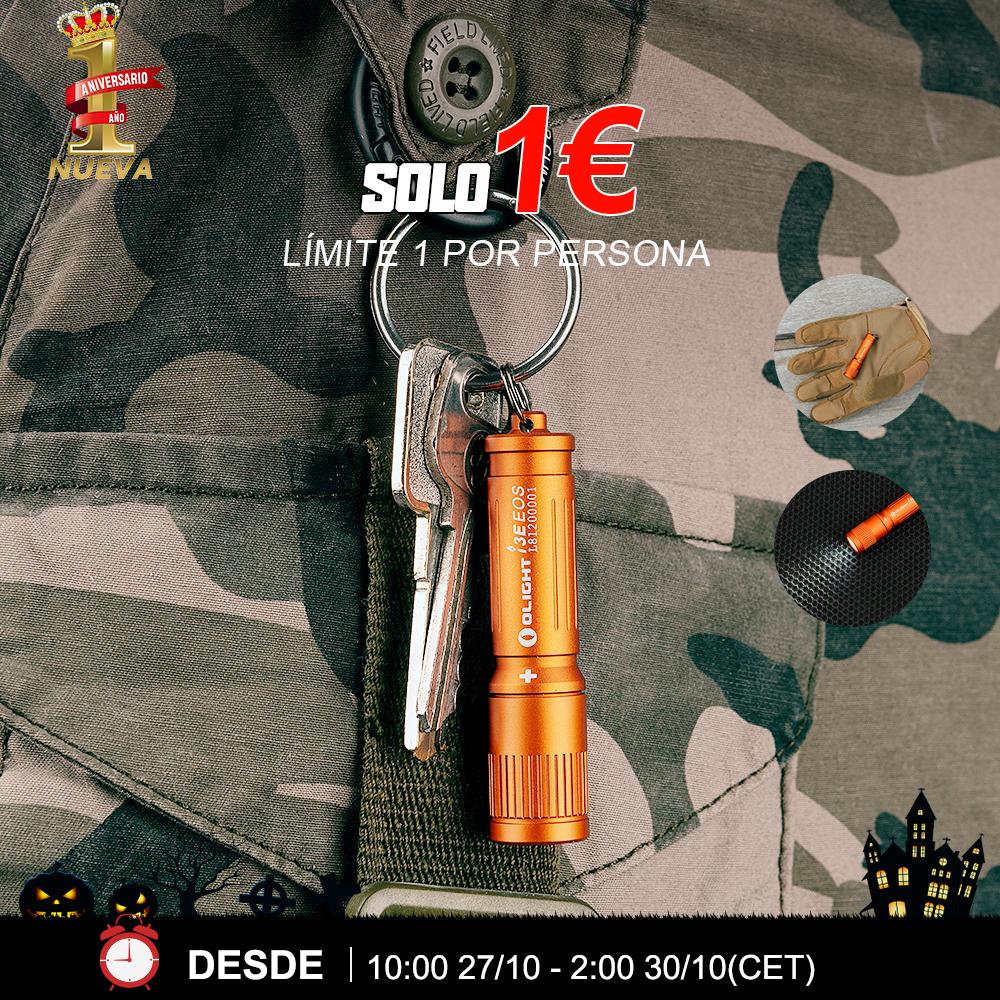 Olight i3E Naranja -SOLO 1 EURO