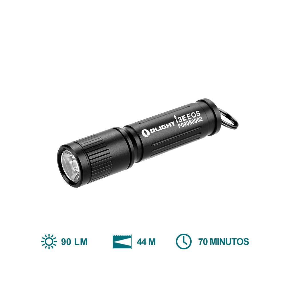 Olight i3E EOS (90 Lúmenes Linternas Llavero Potátil LED)